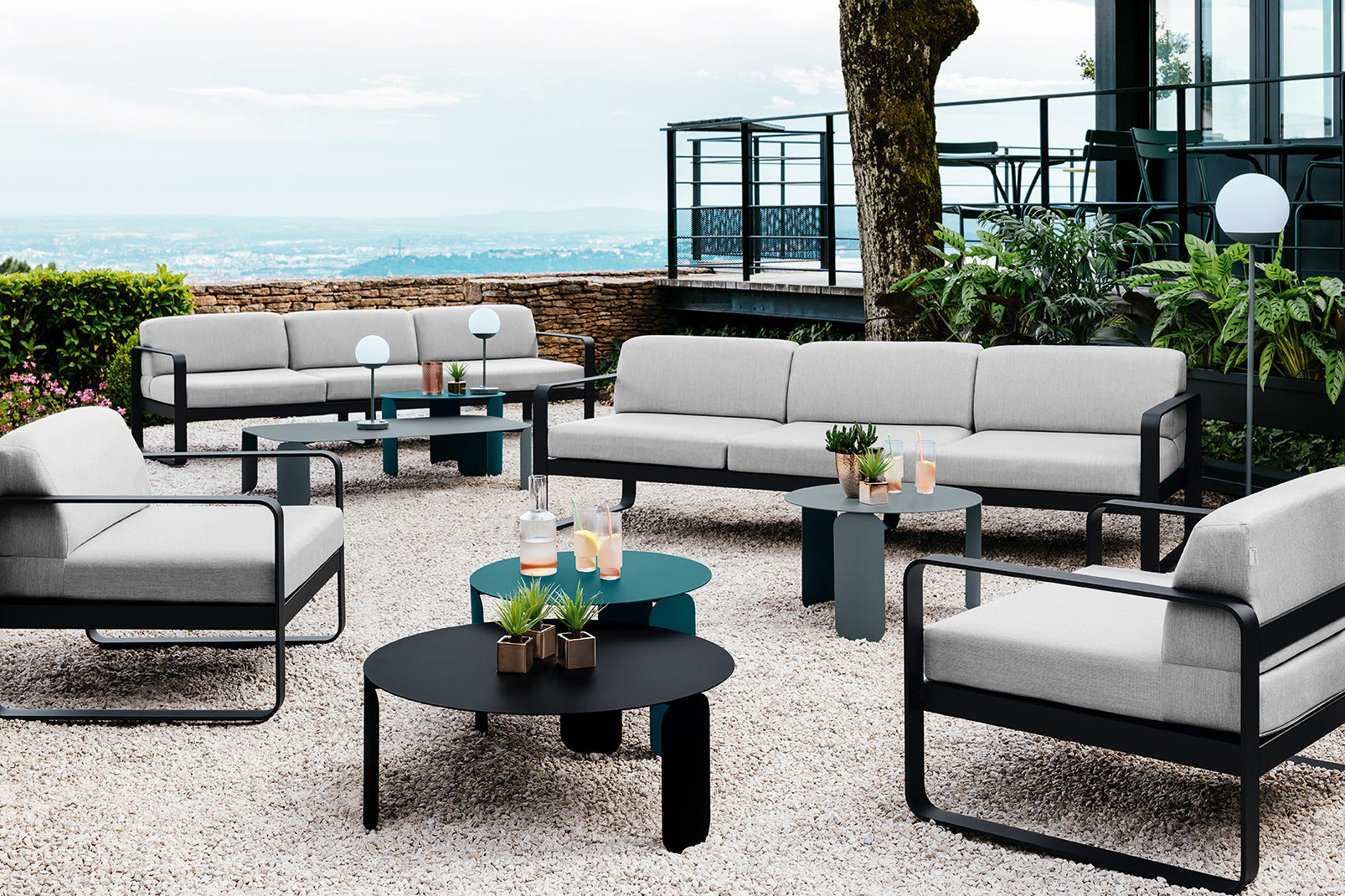 Outdoorsofa Bellevie, Outdoorlounge, Fermob