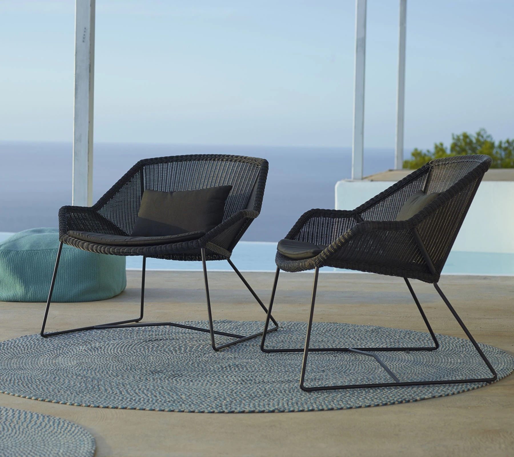 Outdoorlounge, Outdoorsessel Breeze, Cane Line